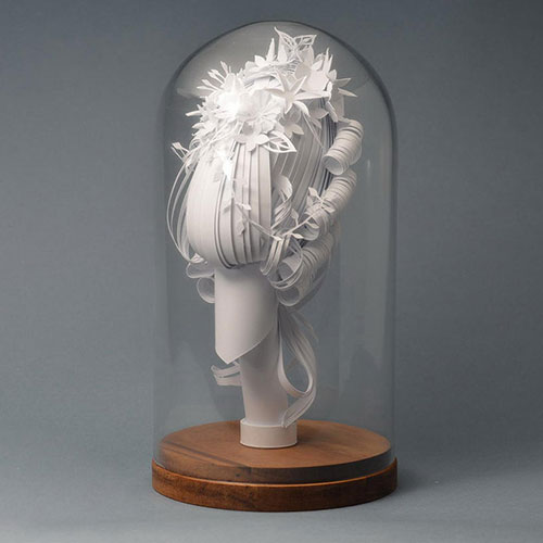 「巴洛克时代」风格与现代结合的纸艺术