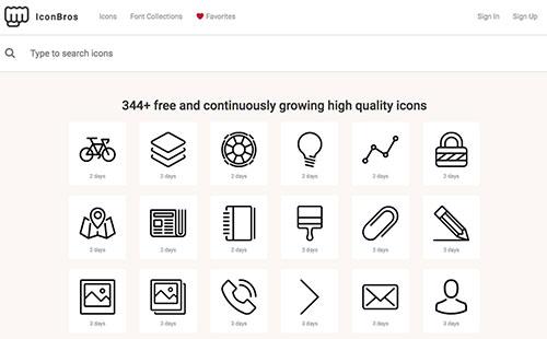 高品质SVG图标系列,UI设计师都收藏了 长期更新