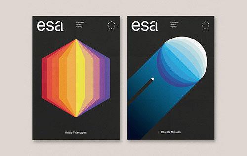 ESA 欧洲航空局品牌设计