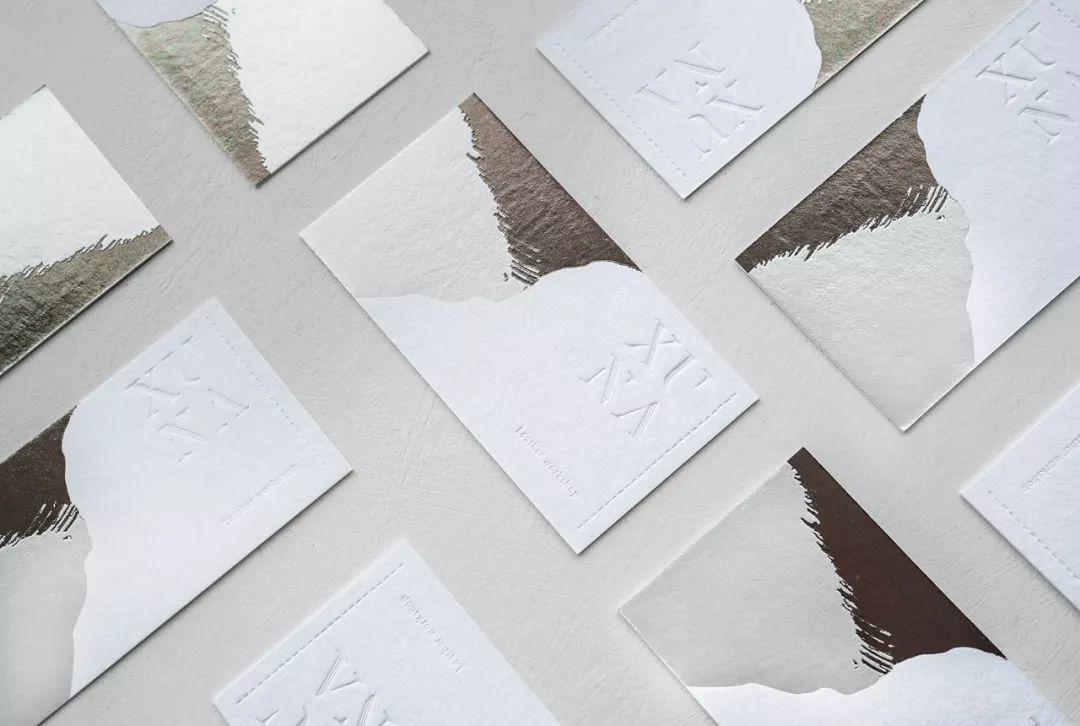 这些中文名片设计,印刷工艺让我印象深刻