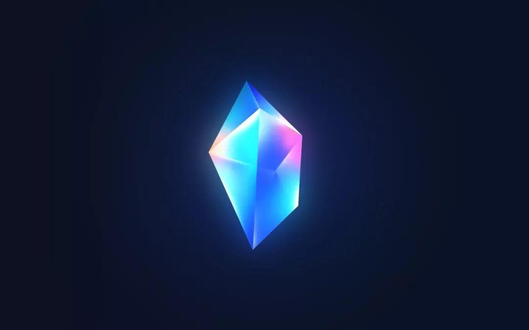 用Photoshop绘制魔法水晶图标