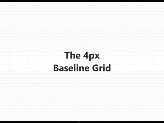 使用4px网格设计,让设计还原更精准