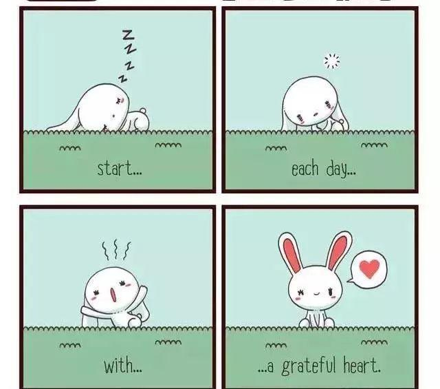 四格漫画-感恩的心-8