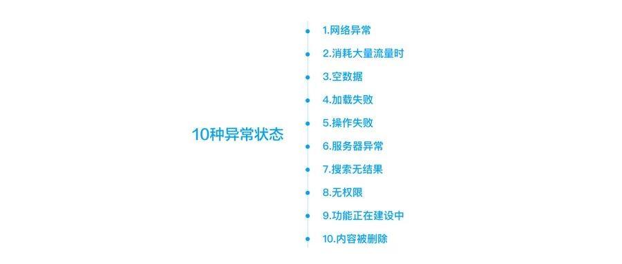 APP中的10种异常状态设计