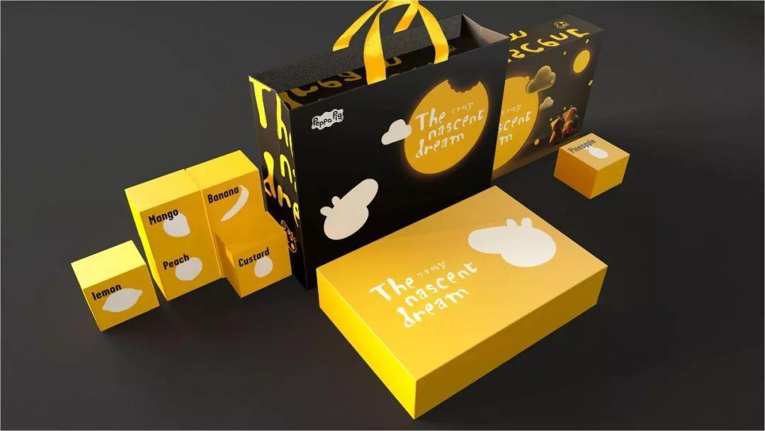 小猪佩奇月饼盒包装设计-11