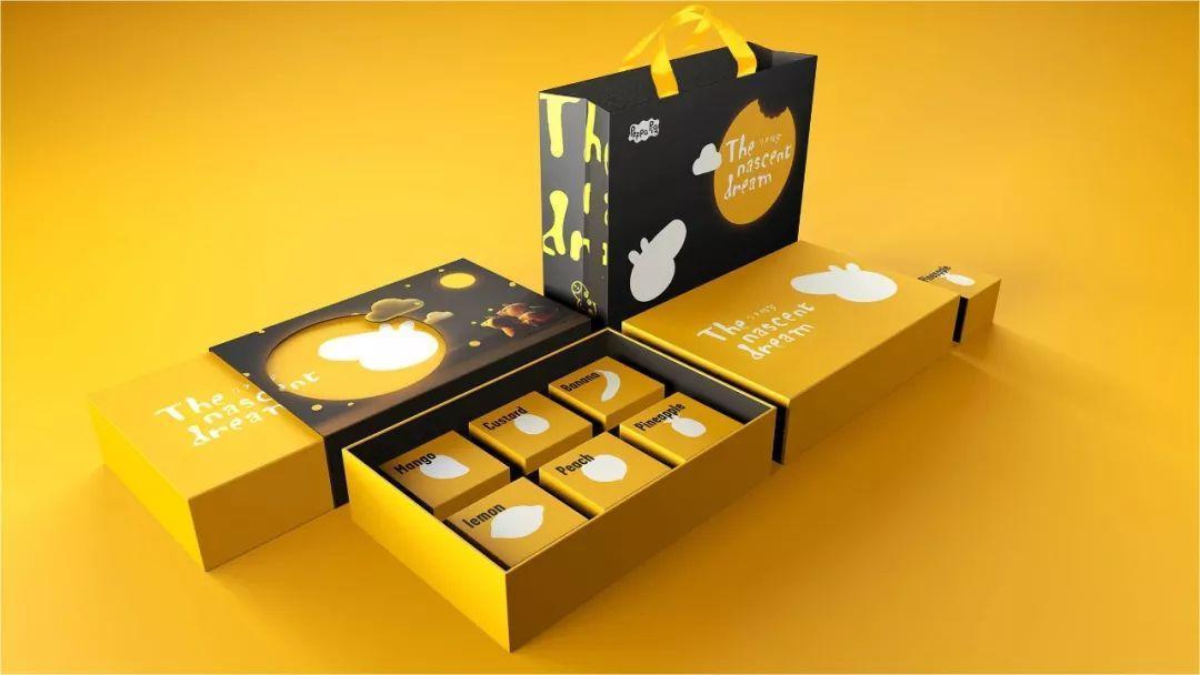 小猪佩奇月饼盒包装设计-12