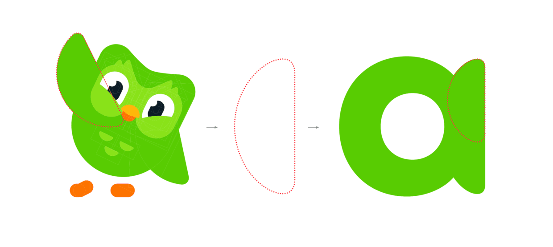 多邻国LOGO及VI视觉延展设计