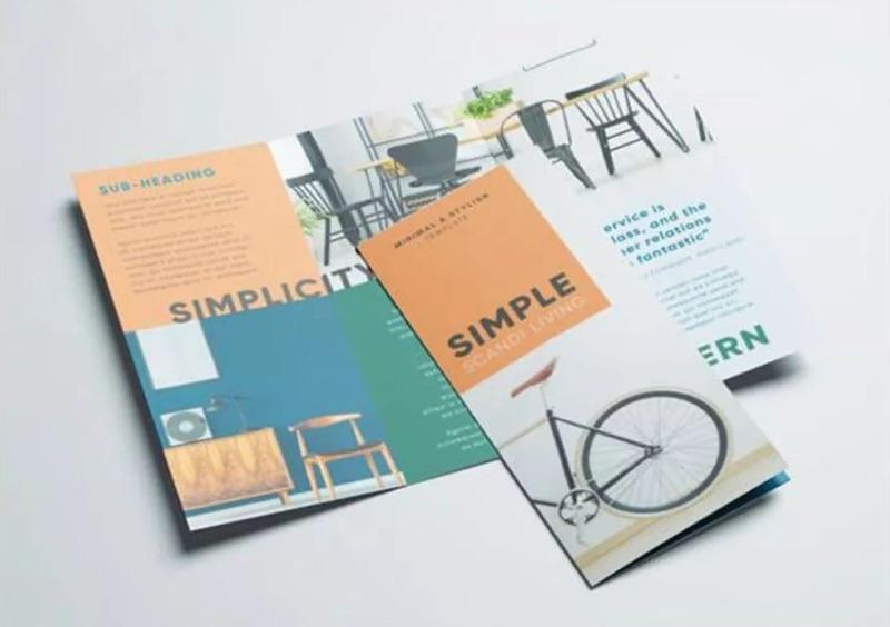 简单的折页 不简单的设计