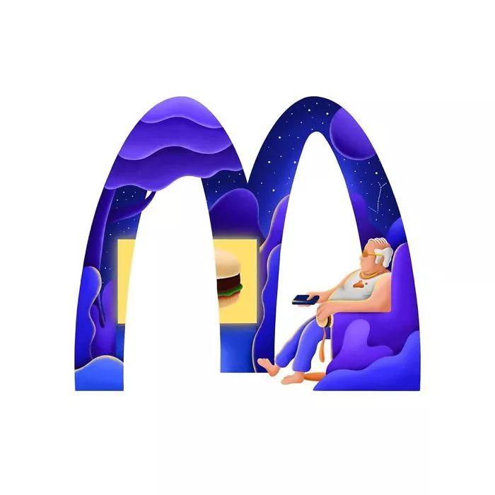 麦当劳 LOGO