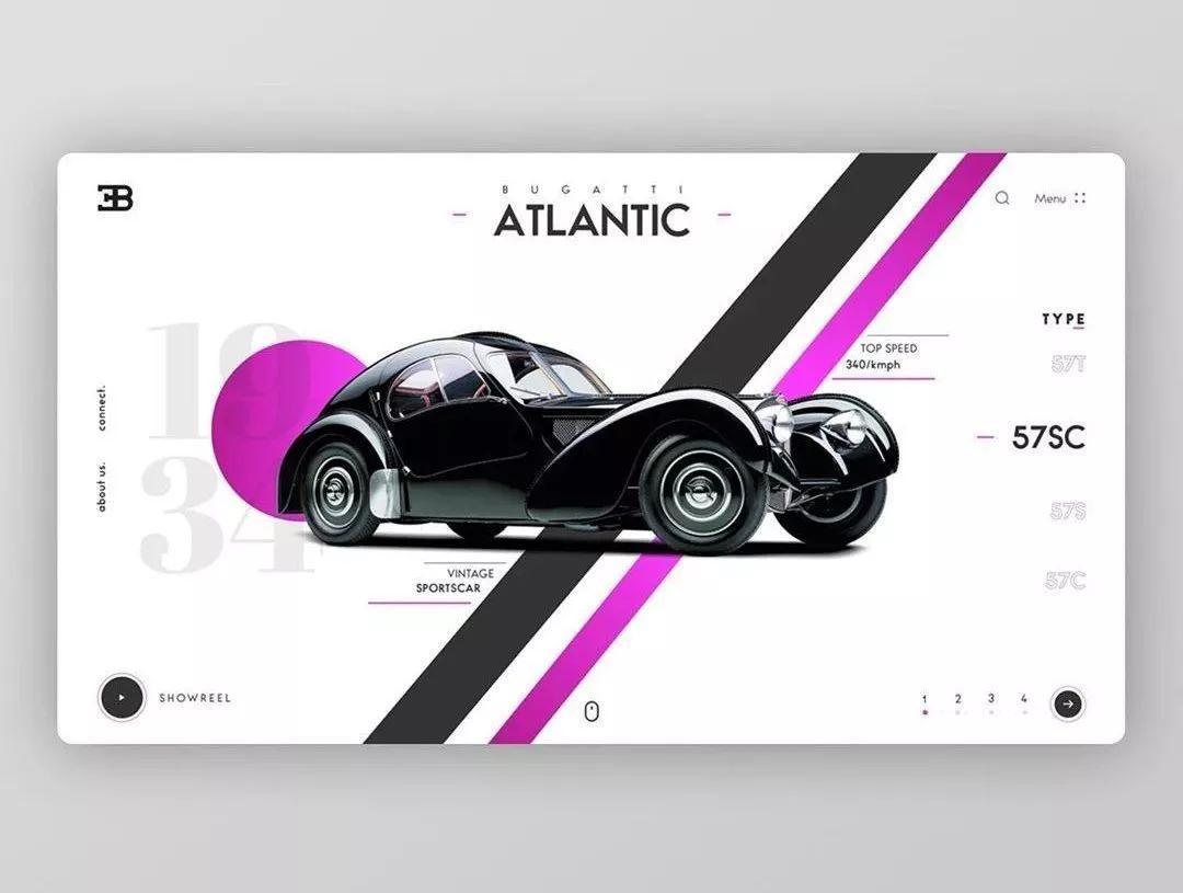 跟着网页轮播图学设计