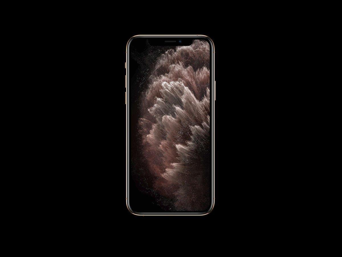 多視角精致 iPhone 11 Pro 設計樣機包