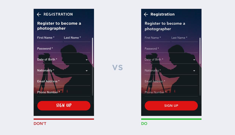 UI設計的10條經驗法則