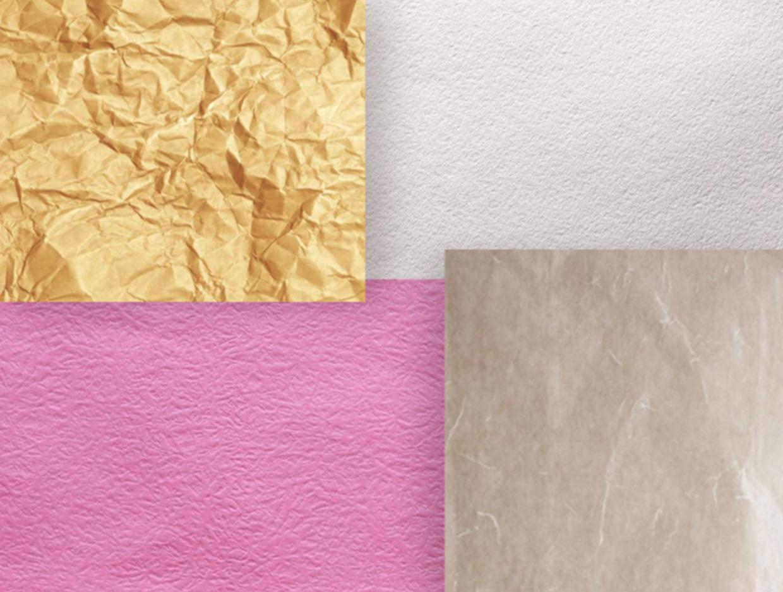 平面印刷纸张厚度、样式与纹理