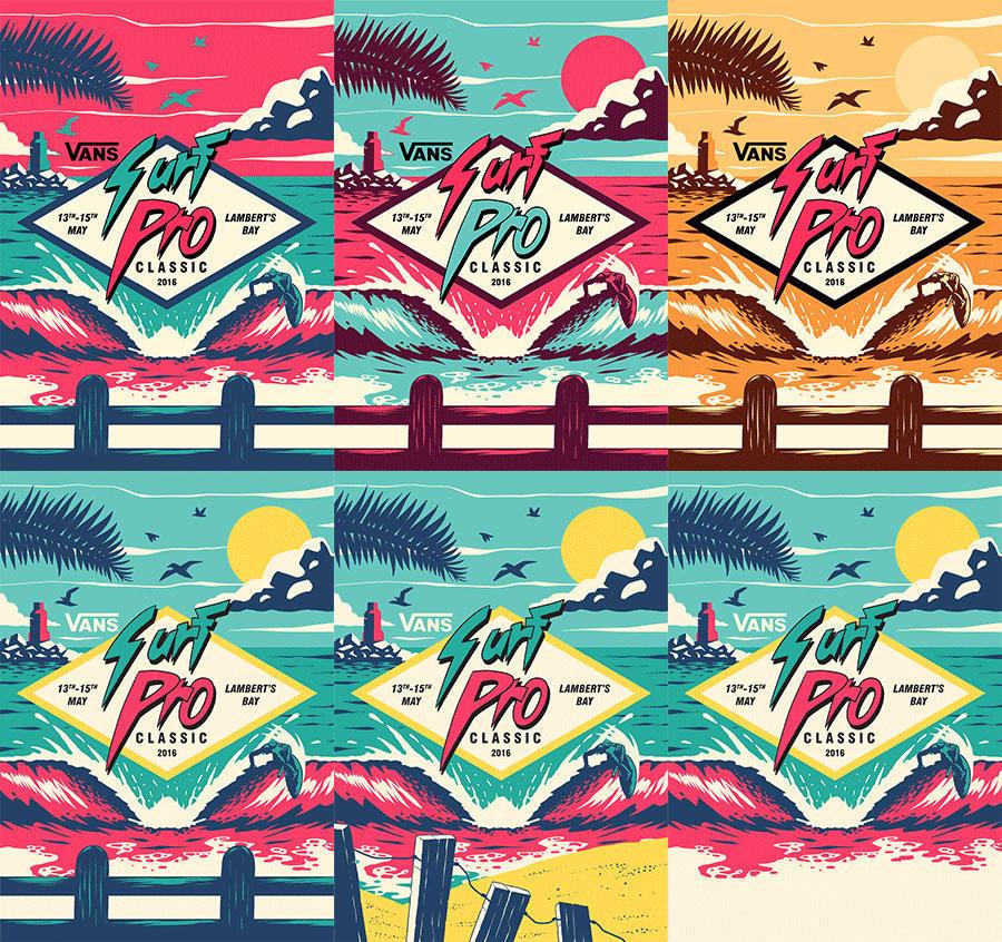 80年代风格海报设计全过程