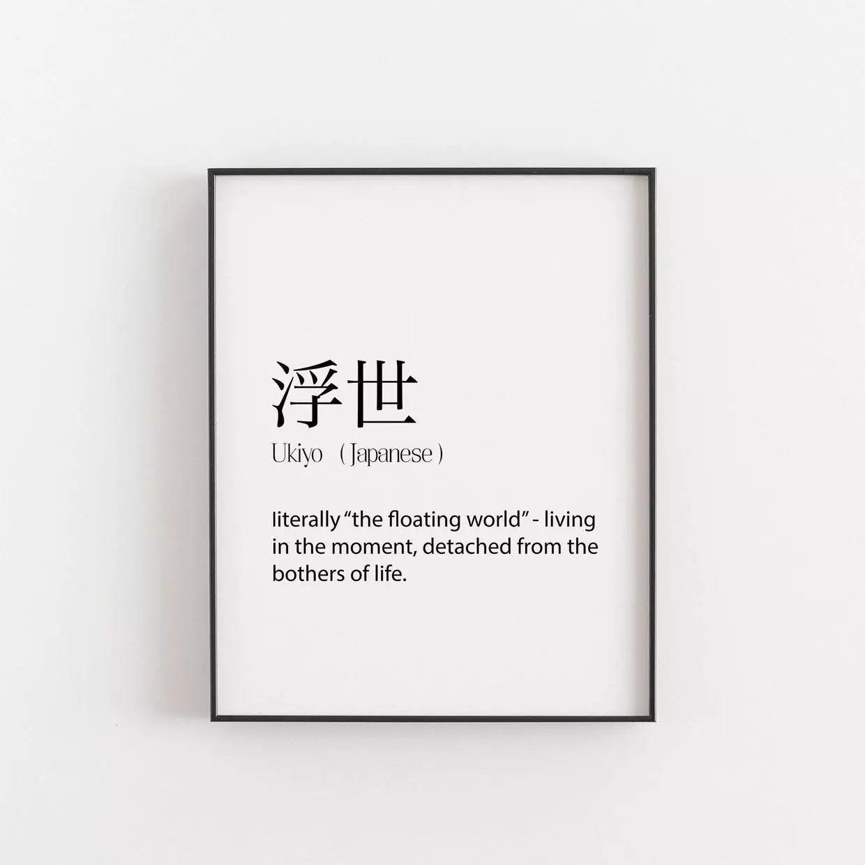 简单纯文字排版海报,造出时尚墙壁挂画