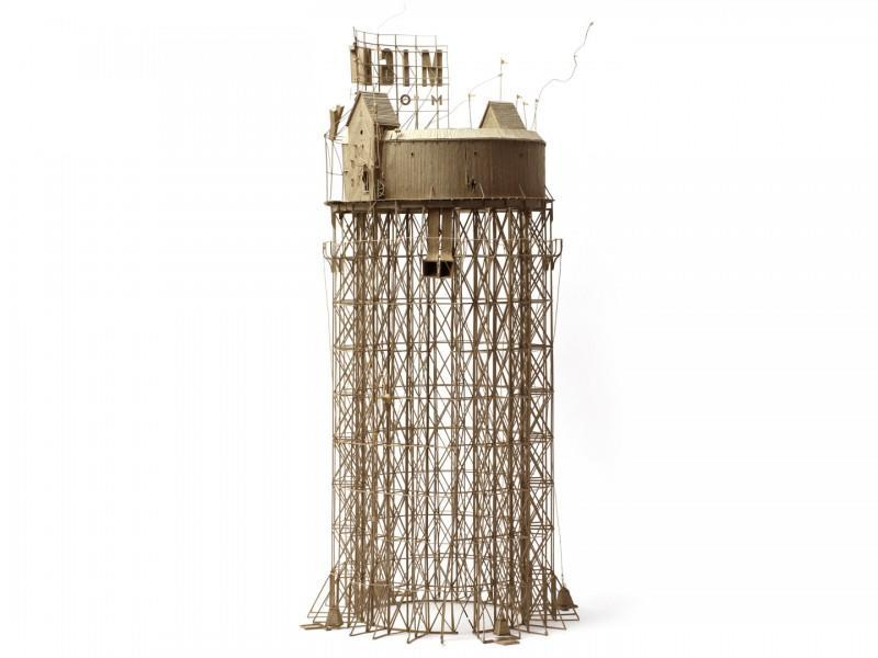 纸板做的移动城堡 by Daniel Agdag