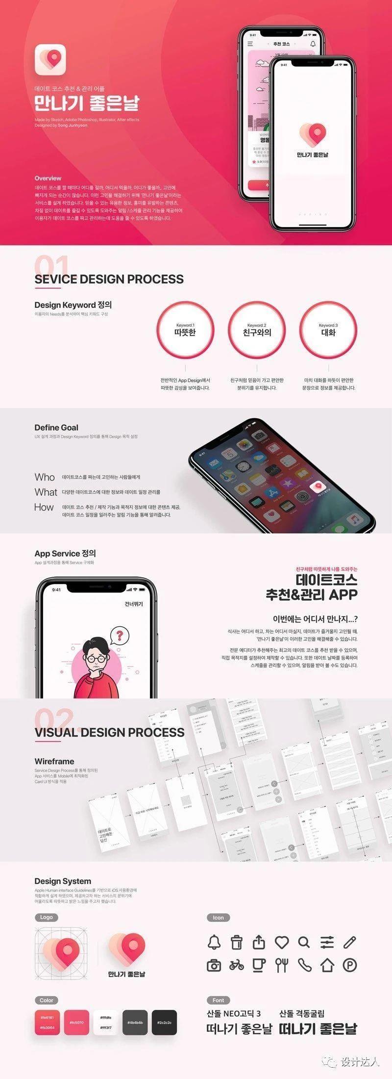 韩国平面/UI设计师社区网站 notefolio
