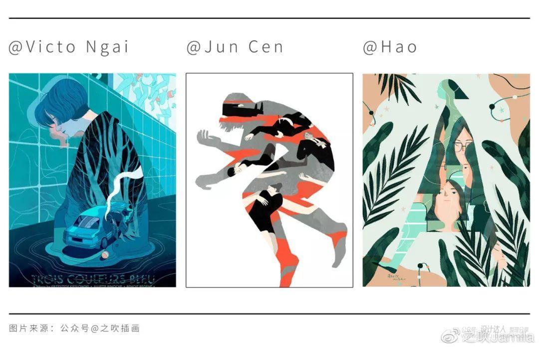 绘制创意插画,可从这5个创意类型入手