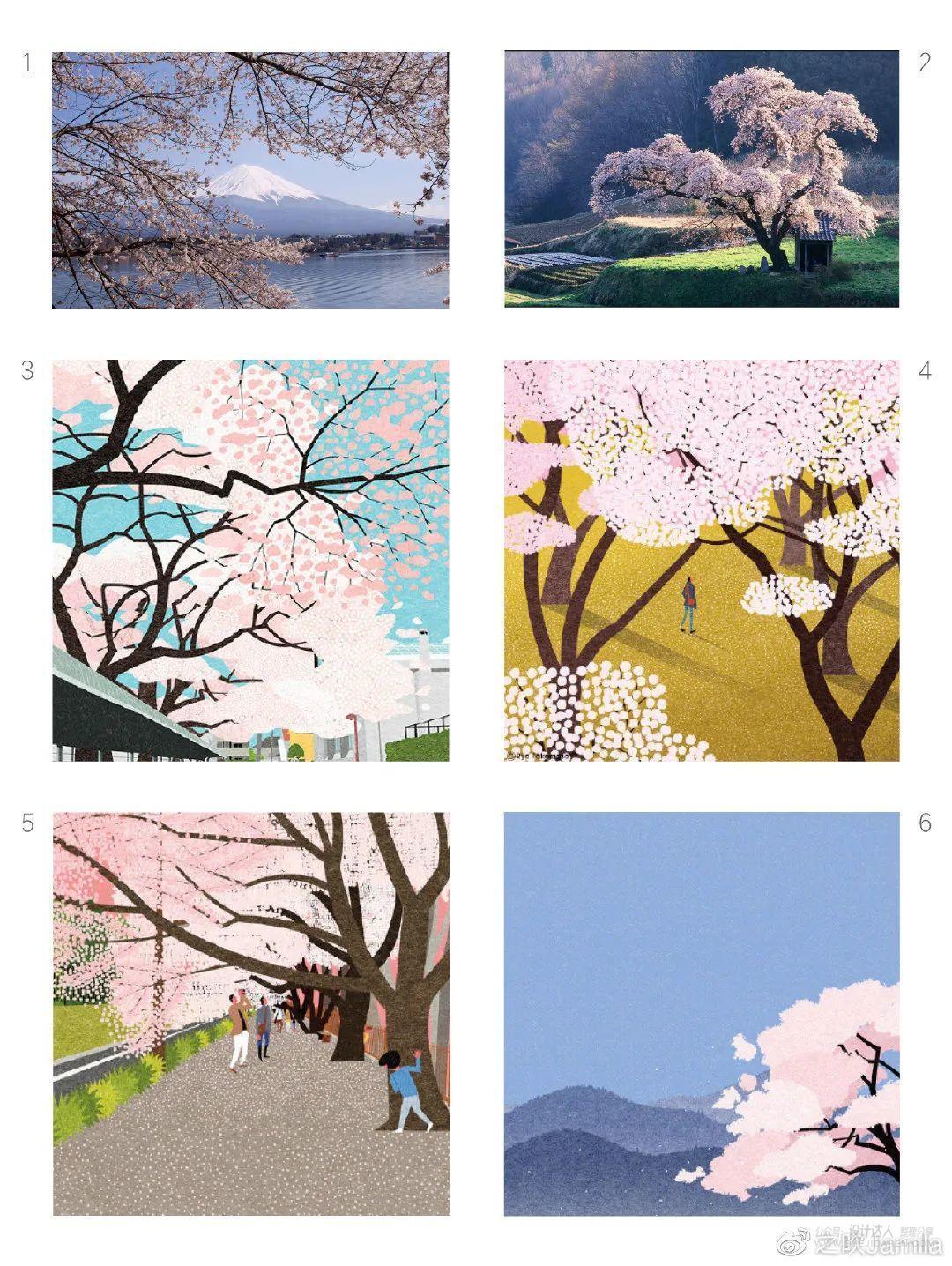 富有设计美感的插画 Ryo Takemasa