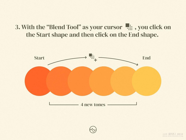 illustrator制作漂亮的双色配色板