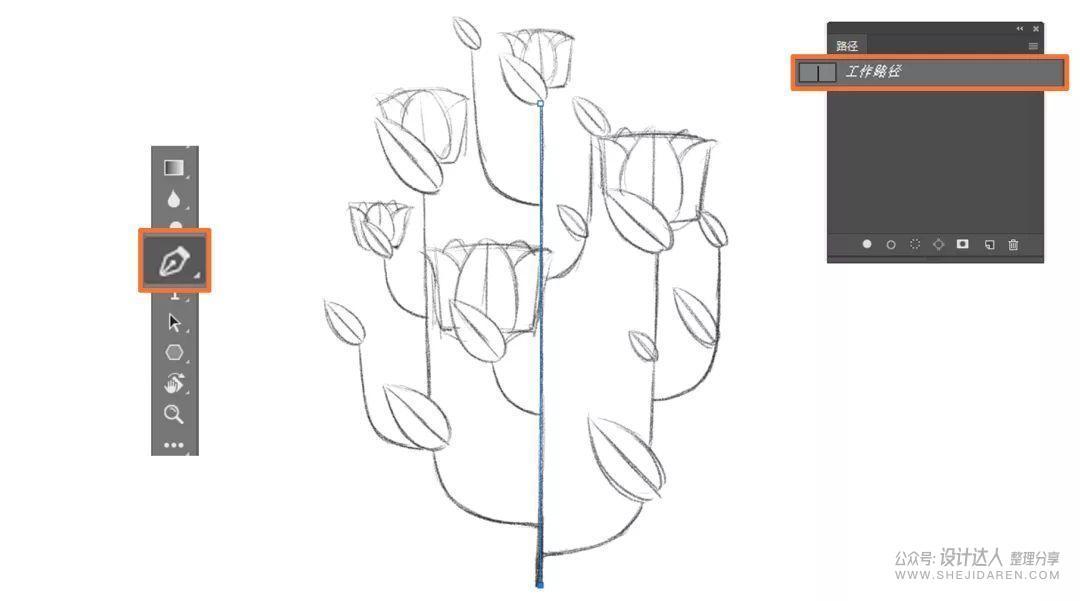 无需手绘板的噪点插画PS教程