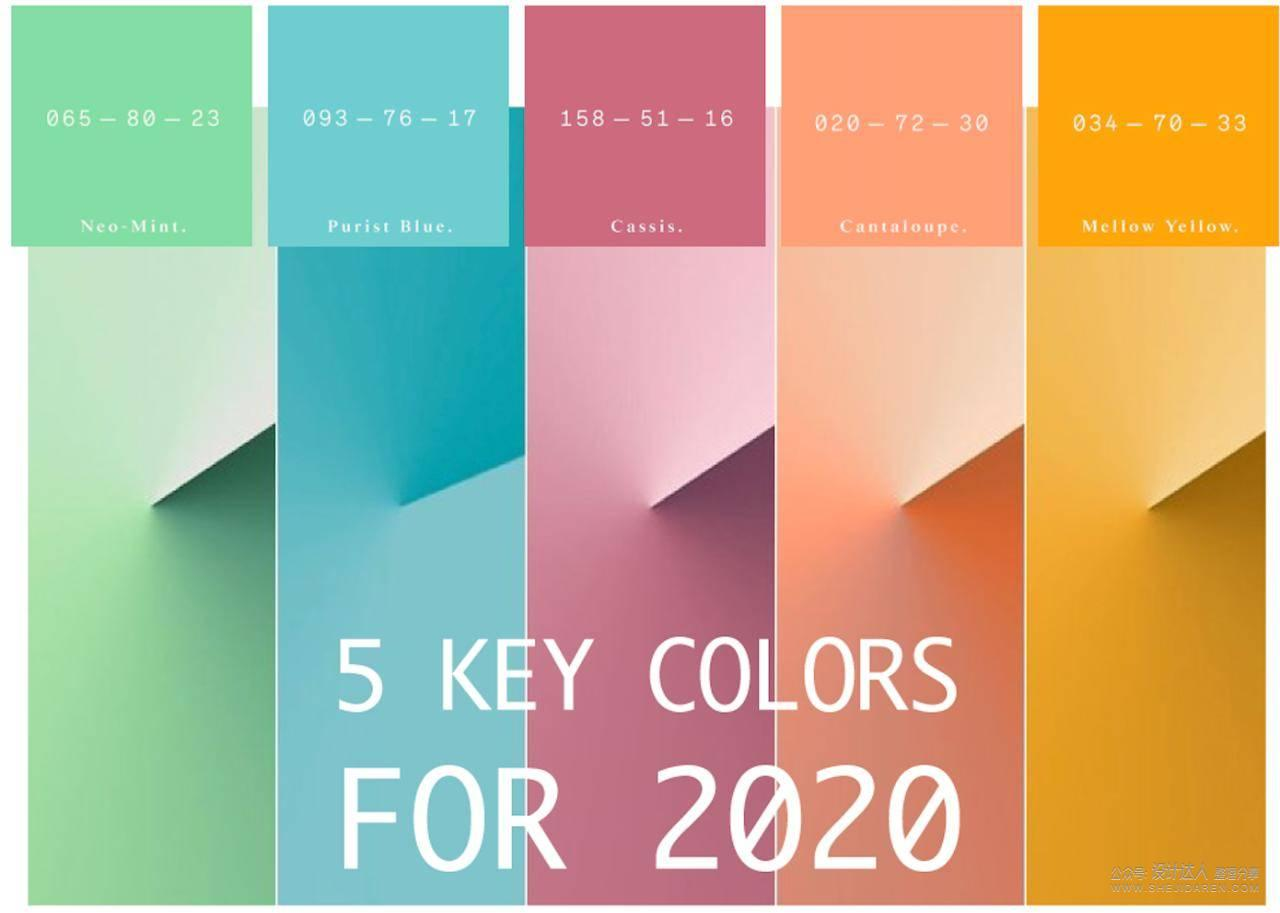 春夏色彩搭配,用这5个流行色就对了