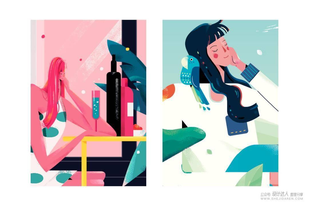 11种传统插画风格,以及传统插画 VS 数字媒介的区别
