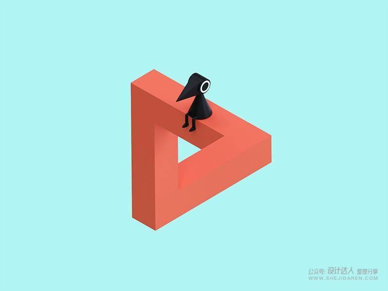 100天3D设计挑战,Facebook产品设计师学3D自述(文末有干货)