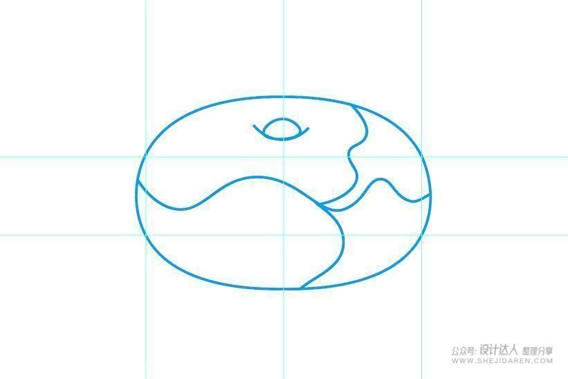 巧用AI曲率工具,2分钟绘制美味甜甜圈