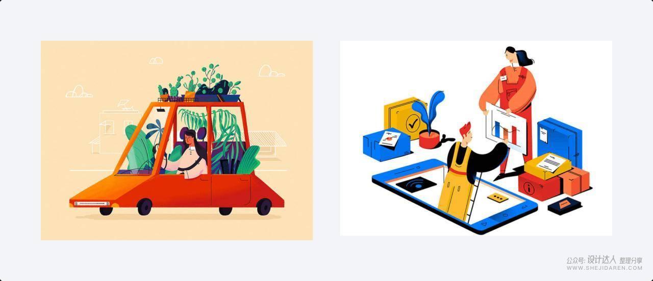 关于插画、字体、动效设计的思考