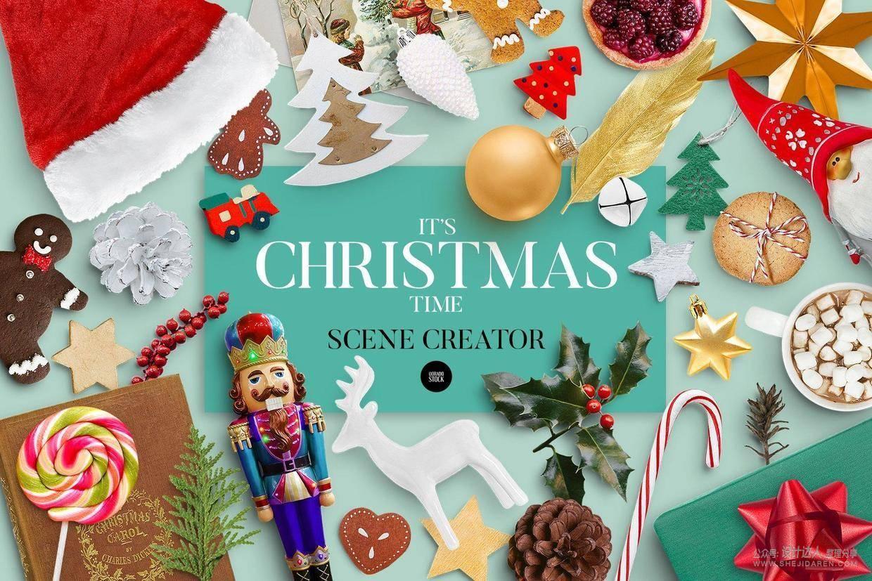 圣诞节场景创建器,快速DIY漂亮的圣诞场景