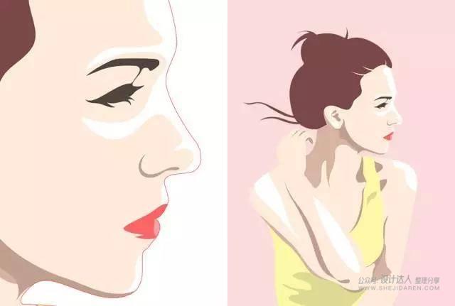 插画教程 - 用自己的照片绘制插画
