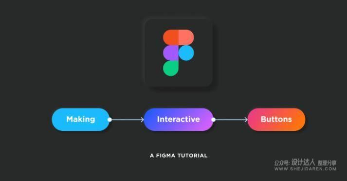 用Figma做动态交互按钮