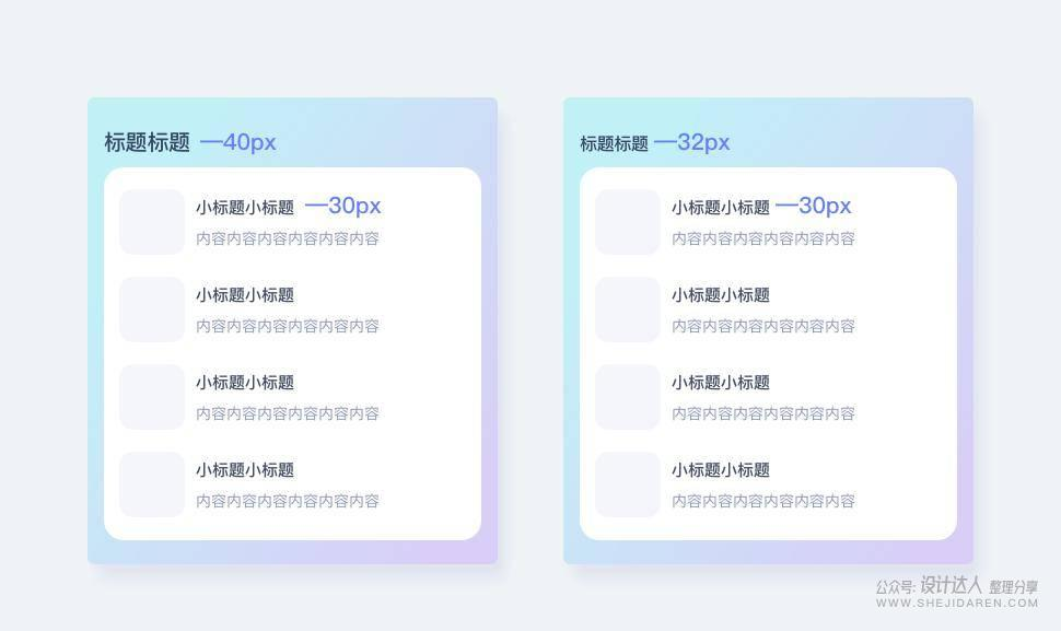 JD设计师分享:卡片式设计及其设计原则
