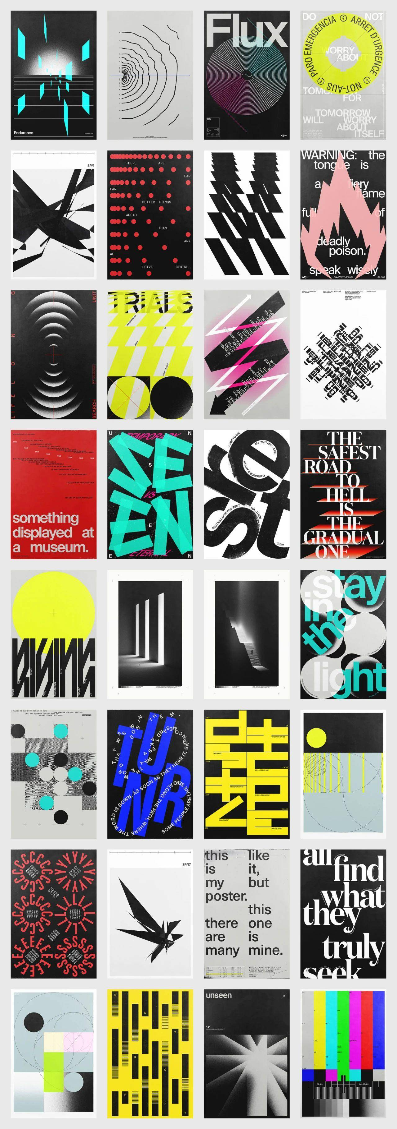 图形文字海报设计 by Xtian