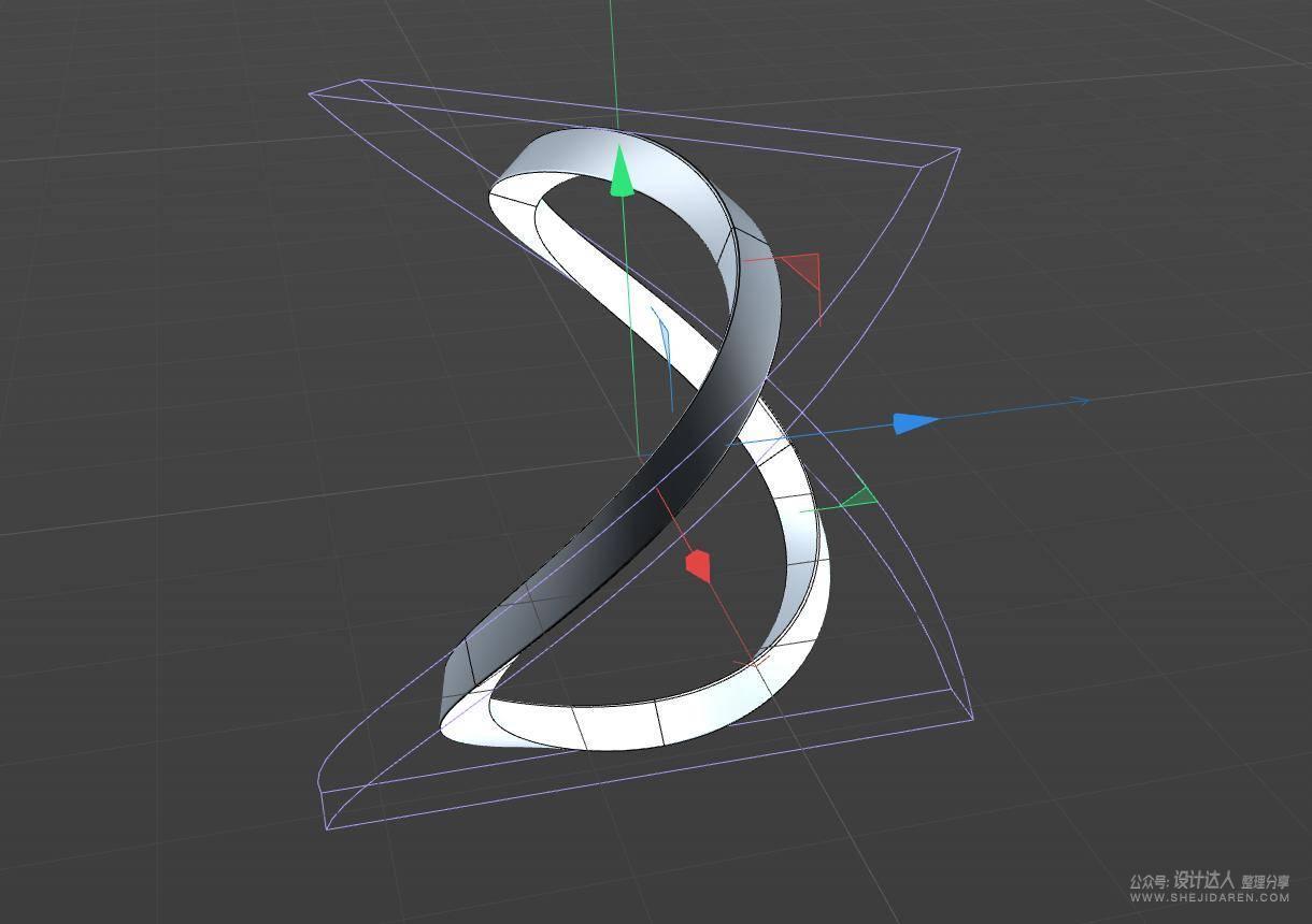 C4D+Octane动态海报设计教程,科技感十足!
