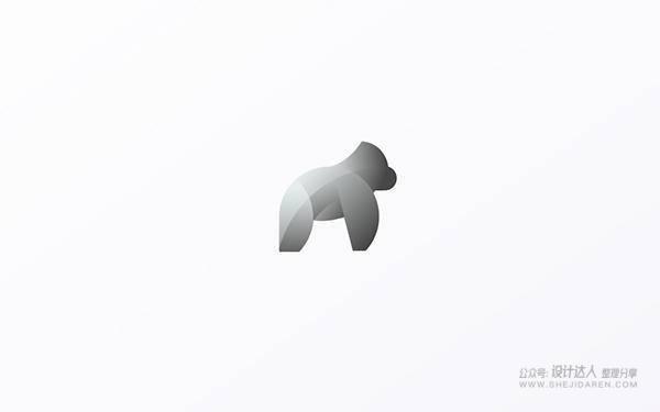 14个使用黄金比例绘制的动物LOGO设计