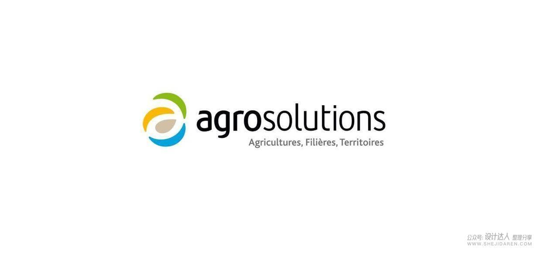 来之大自然的配色,法国农业集团Agrosolutions全新LOGO设计