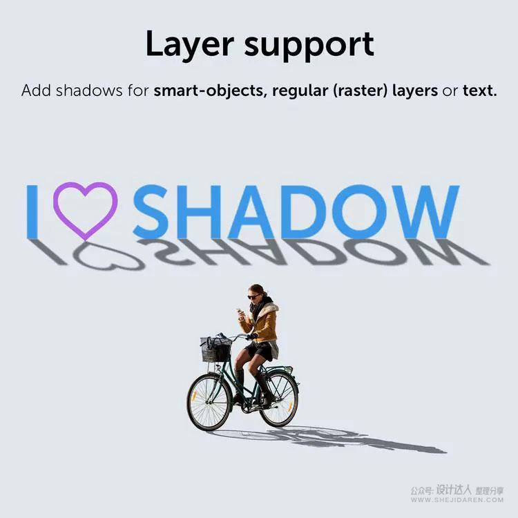 PS逼真投影扩展Shadow,一键制作真实倒影