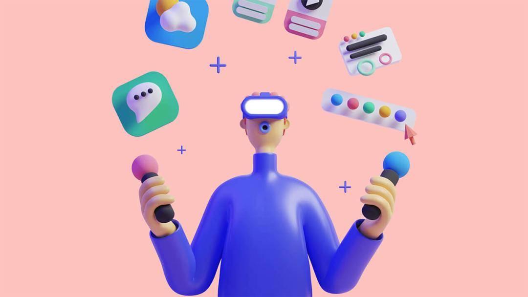 不用担心不会C4D了,超好用的3D素材免费商用!