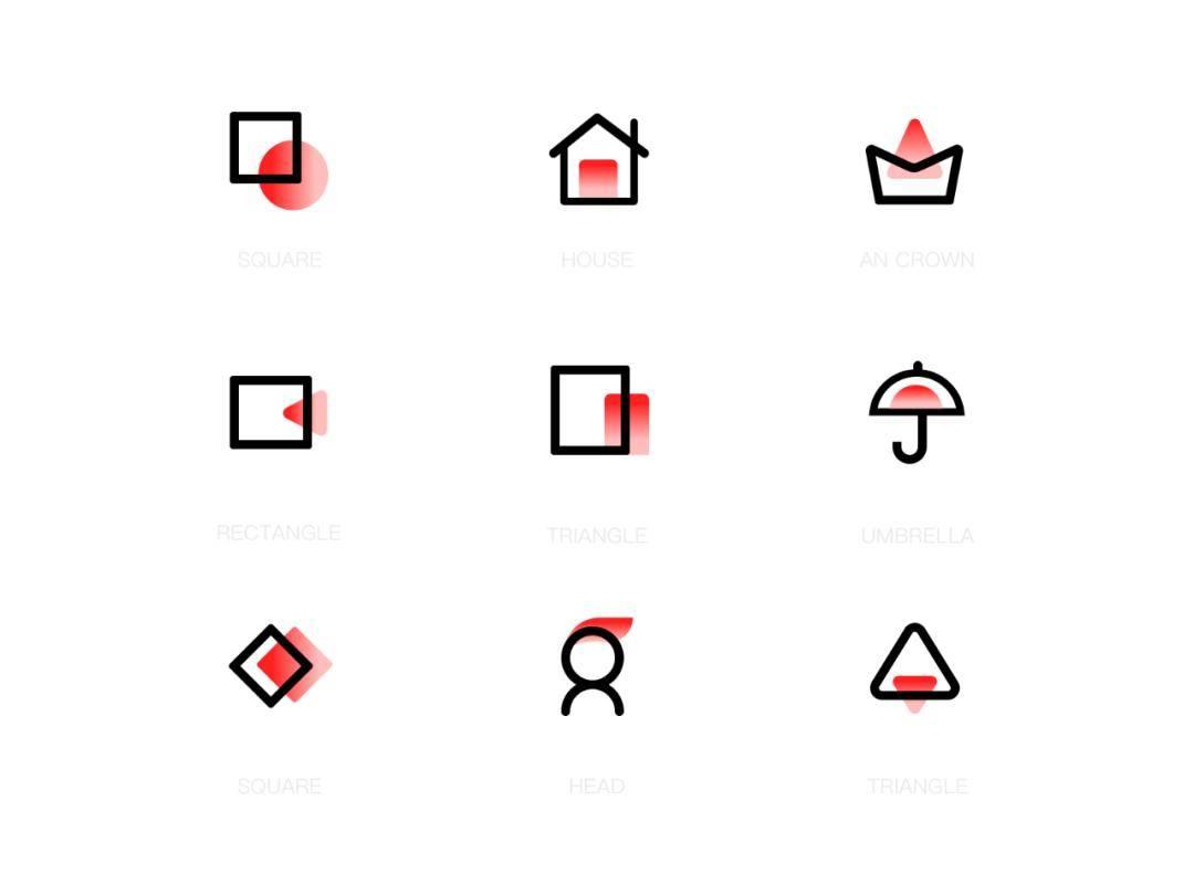 UI图标修饰手法大宝鉴,教你设计好看的ICON