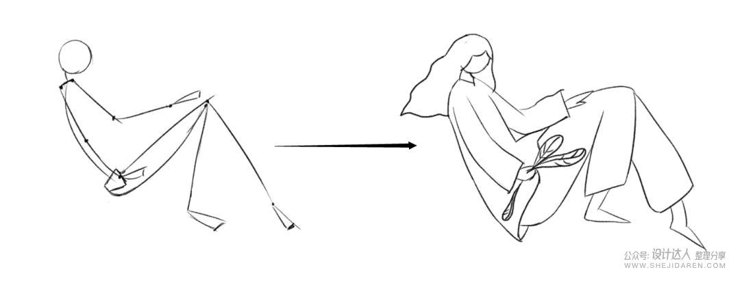 PS肌理插画教程(附肌理PS笔刷)