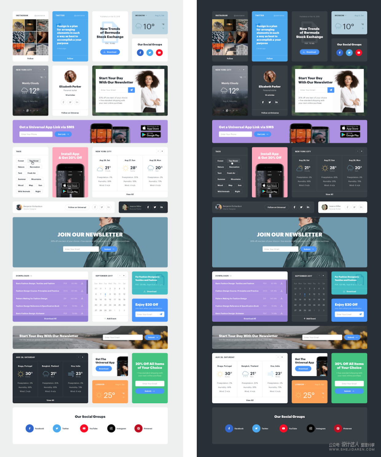 这不是UI素材,而是一套高级WEB UI设计教程!