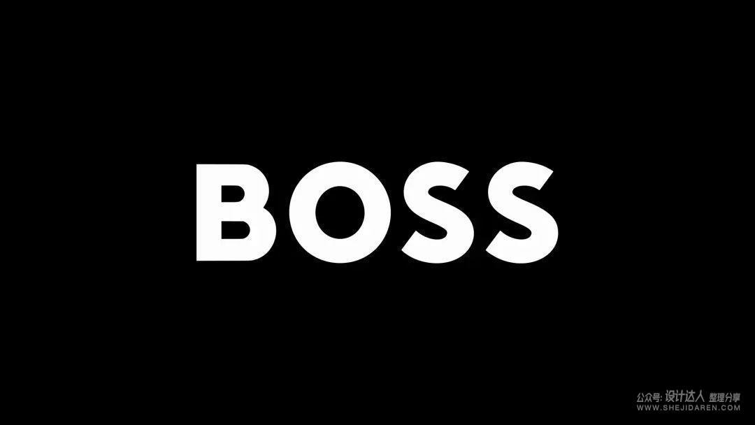 历史悠久的BOSS品牌换LOGO了,只是加粗了一点?