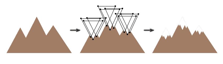 AI如何绘制矢量卡通地图?- 插画教程