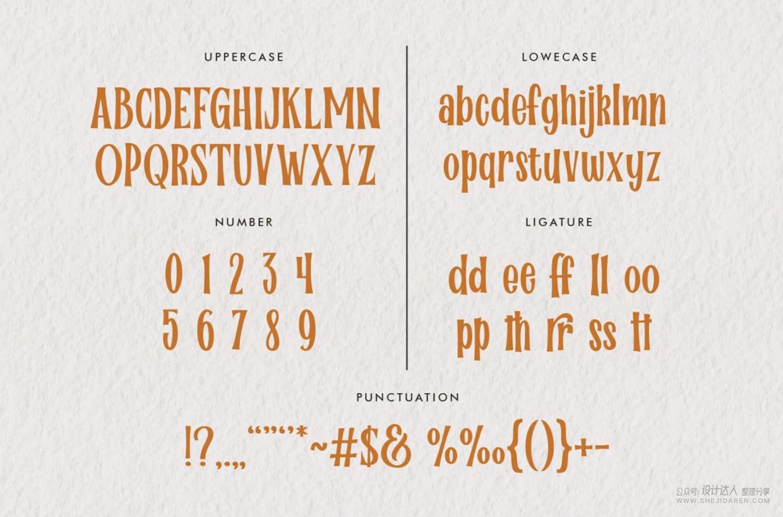 万圣节字体+万圣节海报PSD+插画EPS