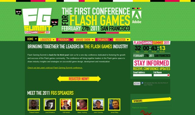 Flash Gaming Summit 2011