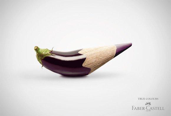 Fabercastell Truecolours: Eggplant