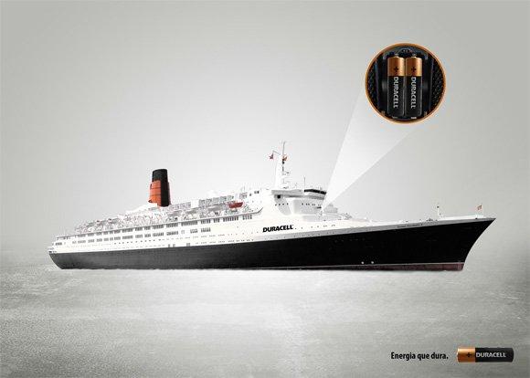 Duracell: Ship