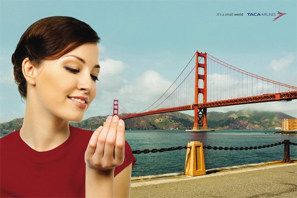 TACA Airlines: Small San Francisco